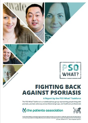 PSO What? report developed by LEO Pharma and Patients Association shows negative impact of psoriasis on quality of life